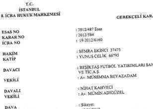 Beşiktaş'a bir ŞOK daha!