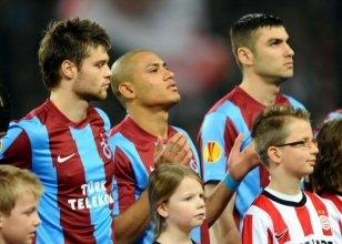 Trabzonspor Hollanda'da yalnız kalmadı