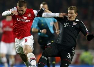 Arsenal mucize, Bayern tur peşinde!