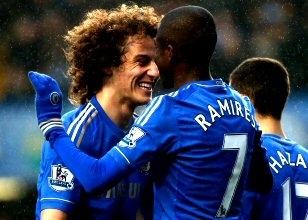 Chelsea, Stamford Bridge'de Wigan'a patladı