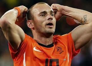 Sneijder forma numaras� belli oldu!