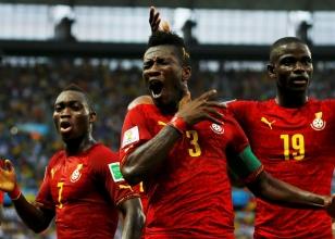 Almanya 2-2 Gana