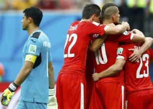Honduras 0-3 İsviçre