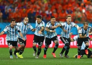 Arjantin final biletini kaptı!