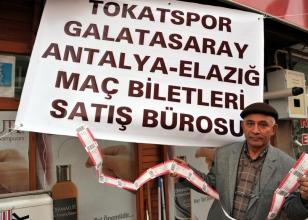 Tokatspor'un, Ziraat Türkiye Kupası'nda grupta sahasında oynayacağı 3 karşılaşmanın biletleri satışa