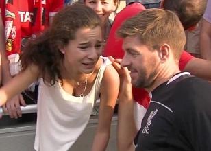 Gerrard sevgisi bunu yaptırdı!