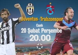 Juventus - Trabzonspor maçı hangi kanalda