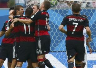 Dünya Kupası / Almanya 1 - ABD 0