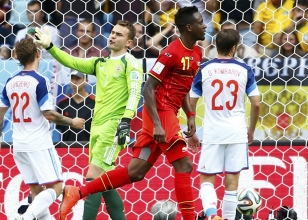 Dünya Kupası H Grubu / Belçika 1 - Rusya 0