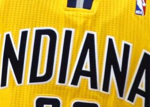 Indiana Pacers'tan formaya 50. y�l logosu!