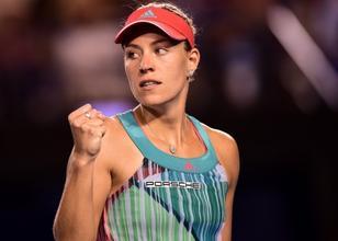 Angelique Kerber ve Dominika Cibulkova yarı finalde