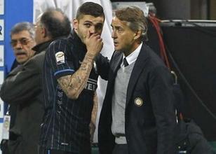 Mancini'nin 'sorunlu' golc�s�ne talip!
