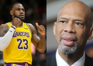 Kareem, Lakers üyeleri ile Zoom'da görüştü!