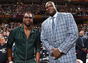 Shaq ve Wade, büyük bir Finaller bahsine girdiler!