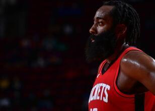 Harden'dan, Houston Rockets'a veda mesajı