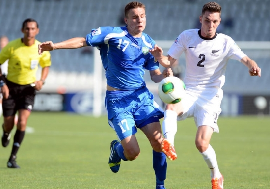 Özbekler 3 puana 3 golle ulaştı