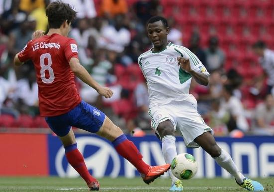 Nijerya 2. turda, Güney Kore beklemede