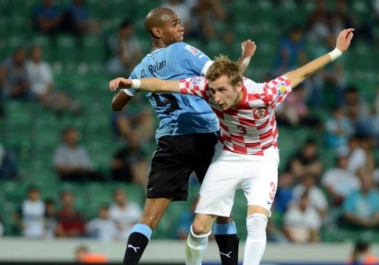 Hırvatistan'dan Uruguay'a geçit yok!