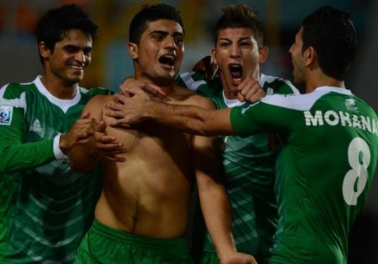 Irak çeyrek finalde!