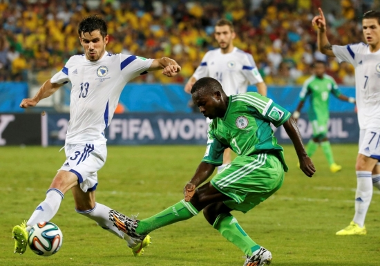 Nijerya 1-0 Bosna-Hersek Maçı Geniş Özeti ve Golü - Dünya Kupası 2014