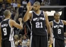 Duncan yıldızlaştı, Spurs'ün 1 adımı kaldı!