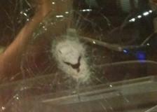 G.Saray otobüsüne taşlı saldırı!