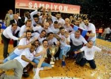 Trabzonspor Basketbol kupasını aldı