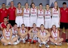 Ümit Milli Kız Basketbol Takımı, İsveç yolcusu