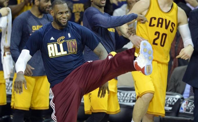VE NBA'DE �LK F�NAL�ST CAVS!