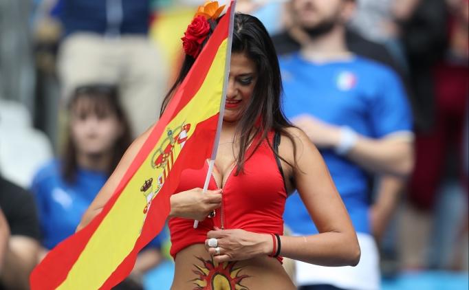 �SPANYA - �TALYA MA�INA<BR> DAMGA VURAN TARAFTAR...