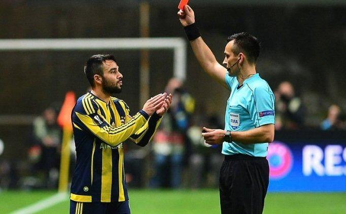 UEFA'DAN F.BAH�E'YE M�JDE! VOLKAN �EN'�N CEZASI DE���T�
