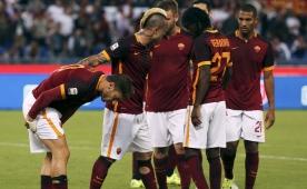 Salih asist yapt�, Roma kazand�...
