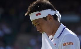 Japon Kei Nishikori Wimby'den �ekildi!