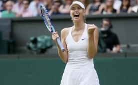 Sharapova zorland� ama pes etmedi!