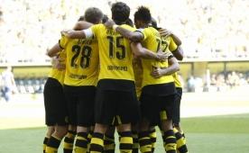 Dortmund evinde �ok rahat! 4 gol...