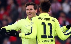 Neymar: 'Messi'den �st�n olmak...'