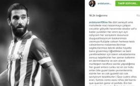 Arda'dan Atletico'ya veda mesaj� geldi...