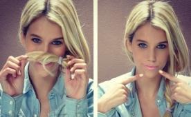 Babası futbolcu, kızı model! Çek güzel...