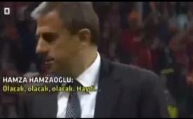 G.Saray taraftar�ndan Ibrahimovic klibi