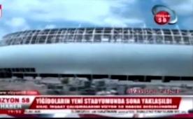 ��te Sergen'li Sivas'�n yeni stad�!....