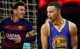 Curry: 'Messi'ye �ok benziyorum �ok..'