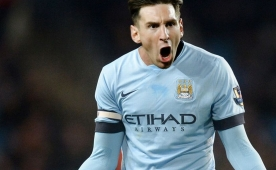 Luis Enrique konu�tu! Leo Messi, Man City...