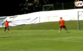 Wesley Sneijder'den idmanda m�thi� vole!