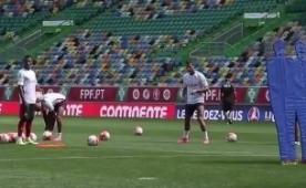 Ronaldo, Nani ve Q17'den frikik �ov!