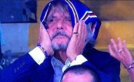Sampdoria fark yedi! Ba�kan mahvoldu!