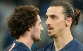 Tak�m arkada��ndan Zlatan'a olay k�f�r!..