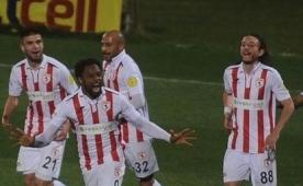 Samsunspor final kap�s�n� aralad�!..
