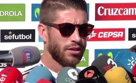 Sergio Ramos'tan transfer a��klamas�!..