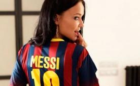 Ukraynal� g�zelden Leo Messi itiraf� var