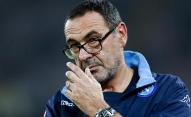 Napoli hocas� Sarri '�ki gol atarsa beni du�ta izleyebilir bile'